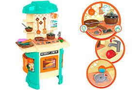 Детский игровой набор Кухня ТехноК 5637 | Набор плита, столовые приборы, посуда