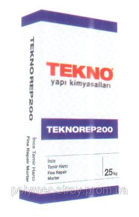 Тиксотропная тонкослойная ремонтная смесь Teknorep 200