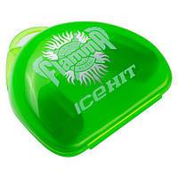 Капа детская/подросток зеленая с запахом Flamma IceHit Junior