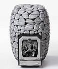 Дровяная печь для бани и сауны HUUM HIVE Wood LS 17 kW выносная топка, фото 3