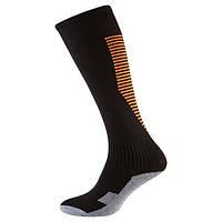 Гетры детские/подросток, терилен+эластан, черный, махровый носок