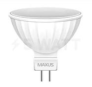Лід лампа Maxus led Mr16 8w 3000k 220v GU5.3,1-led-515 (KG-375), фото 2