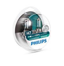 Лампа галогенная Philips H7 X-treme VISION (12972XV + S2), фото 2