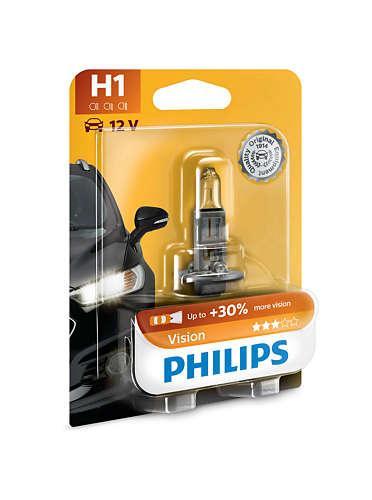 Лампа галогенная Philips H1 Vision (12258PRB1)