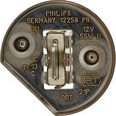 Лампа галогенная Philips H1 Vision (12258PRB1), фото 2
