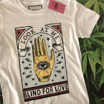 Футболка Gucci Blind for Love. . Бирка ориг, фото 2