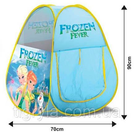 """Палатка игровая """"Frozen Fever"""" - """"Холодное торжество"""", фото 2"""