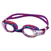 Очки детские Finis Mermaid™ Goggle Scales, фиолетовые