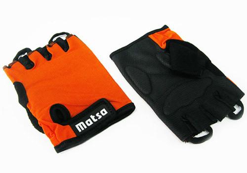 Рукавички для фітнесу Matsa, розмір L, лайкра, кольори в асортименті