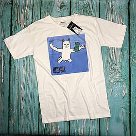Белая футболка RipNDip Nermvana