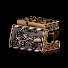 Зажигалка бензиновая серия Bike «Honda STI300» бронза