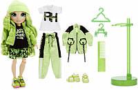 Игровой набор с шарнирной куклой Rainbow High ДЖЕЙД., фото 1