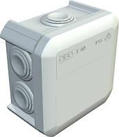 Кабельная коробка распределительная с вводами OBO T40 90х90х52, IP55