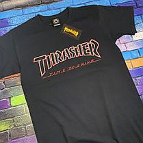 Футболка Independent x Thrasher чёрная, фото 3