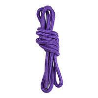 Скакалка гимнастическая фиолетовая, хлопок/полиэстер