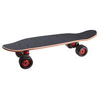 Скейт, канадский клен, чехол, дека 60х16 см