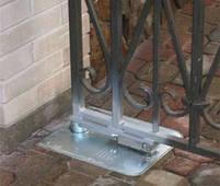 Привод  для автоматизации распашных ворот c подземной установкой Nice Metroplex 3000, фото 2