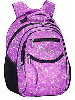 Школьный рюкзак Сердечки №502 (Школьные рюкзаки)