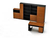 Шкафы офисные и стол 01-12