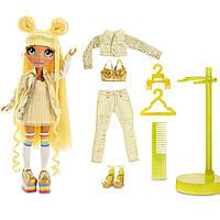 Игровой набор с шарнирной куклой Rainbow High Санни., фото 1