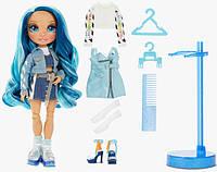 Игровой набор с шарнирной куклой Rainbow High СКАЙЛАР., фото 1