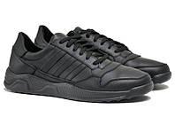 Чоловічі кросівки з натуральної шкіри ZX 500 leather. 46 47 48 49 50, фото 1