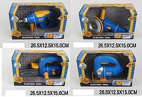 Набор инструментов батар. 7917A/B/C/D (1656649/51/53/54) (48шт/2) 4 вида, в коробке 26,5*12,5*15см