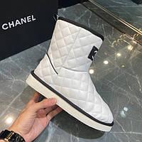 Зимние сапожки Chanel, фото 1