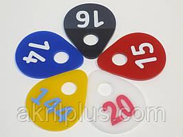 Брелки для ключів 60*45 мм