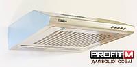 Вытяжка PROFITM 60 белий антик  3х скорости /турбо/ плоская