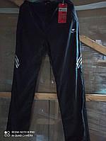 Мужские спортивные штаны плащевка на флисе рр XXL (СКЛАД)