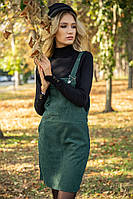 Сарафан женский 153R1071 цвет Темно-зеленый