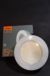 Светодиодный LED светильник ART ЖКХ круглый VIDEX 15W IP65 5000K