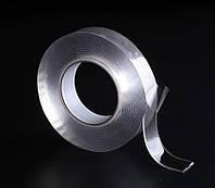 Сверхсильная крепежная двухсторонняя универсальная скотч-лента многоразового использования Ivy Grip Tape 3 м