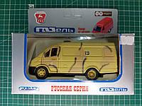 ГАЗ-2705 «ГАЗель» фургон ВСУ. Модель-копия в масштабе 1/43. WELLY