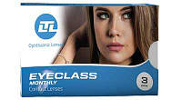 Линзы контактные силикон-гидрогелевые Eyeclass, Italy