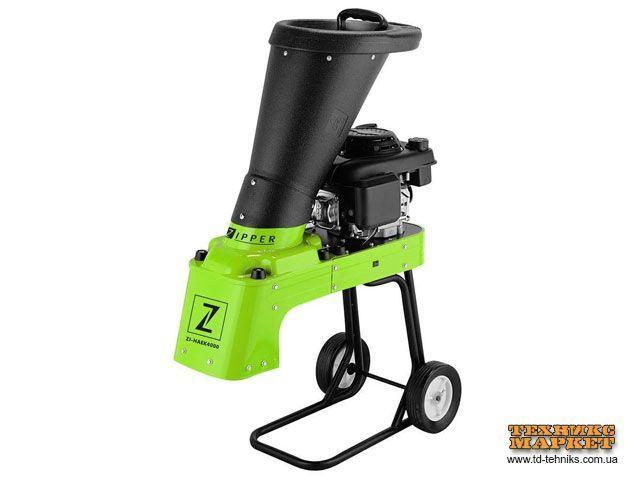 Бензиновий садовий подрібнювач гілок Zipper ZI-HAEK4000