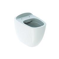 Унитаз напольный Geberit Citterio 6 л, горизонтальный выпуск, белый глянец, KeraTect, Rimfree 500.512.01.1