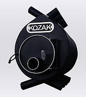 Булерьян 02 - 400 м³ KOZAK сталь 4 мм топка на дровах 70 см с зольником печь для дома