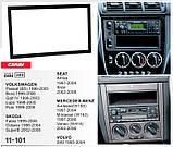 Переходная рамка CARAV Mercedes W168, W163, Vaneo, W414 (11-101), фото 5