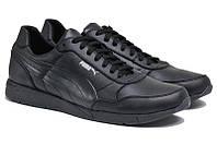 Чоловічі кросівки з натуральної шкіри Puma Classic р. 46 47 48 49 50, фото 1