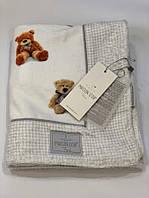 Детское полотенце Maison D'or Swety Bears махровое 75-100 см белое