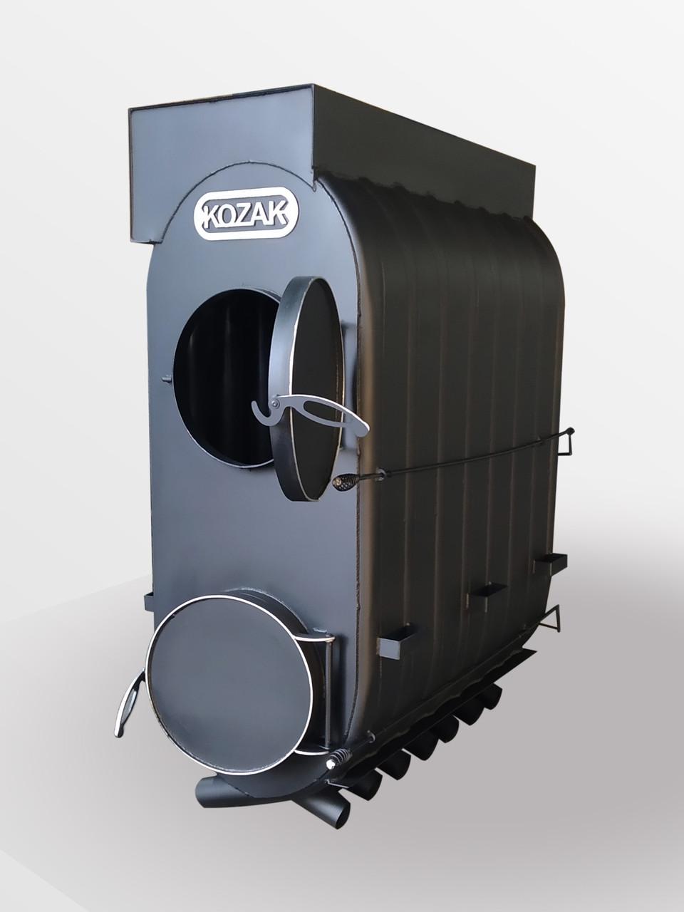 Булер'ян 07-2000 м. куб промисловий з підключенням до вентиляції котел на дровах Turbo KOZAK | 72 кВт |