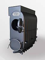 Булерьян 07-2000 м.куб промышленный с подключением к вентиляции котел на дровах Turbo KOZAK | 72 кВт | Базовый, фото 1