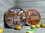 Печиво Danesita Blue вершкове асорті в різдвяній жерстяній банці 454г, фото 2