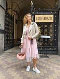 Жіноча шкіряна куртка Clifton, укорочена з поясом, 42 ( 42, 44, 46 ) бежевий, шкіра 93, фото 6