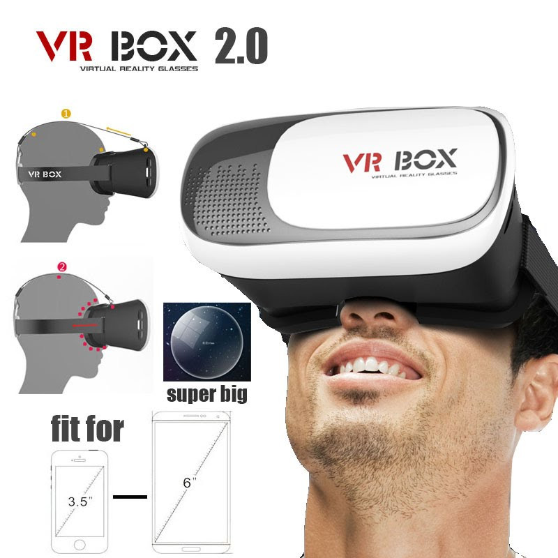 Очки виртуальной реальности VR BOX 2 + Bluetooth пульт ДУ