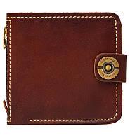 Кожаный кошелек ручной работы Gato Negro Jeans мужской, коричневый (мужские кошельки из натуральной кожи)