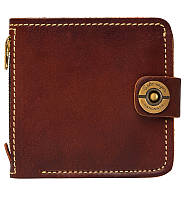 Кожаный кошелек ручной работы Gato Negro Jeans мужской, коричневый (мужские кошельки из натуральной кожи), фото 1