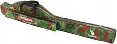 Чехол для удилищ односекционный Mikado 130см Камуфляж